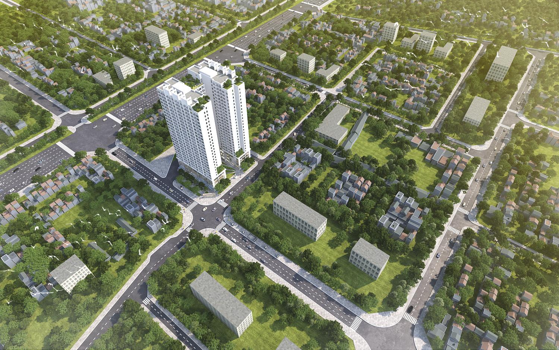 """Athena Complex Pháp Vân – khu đô thị xanh """"hút"""" khách hàng ngay từ cái nhìn đầu tiên"""