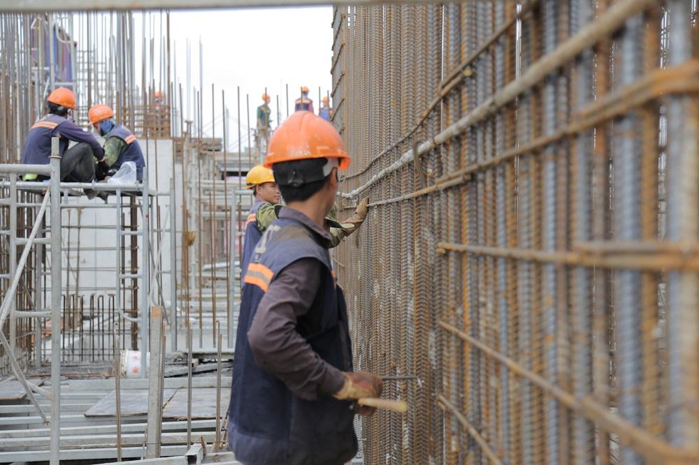 Tiến độ xây dựng Athena Complex Pháp Vân ngày 24/08/2020