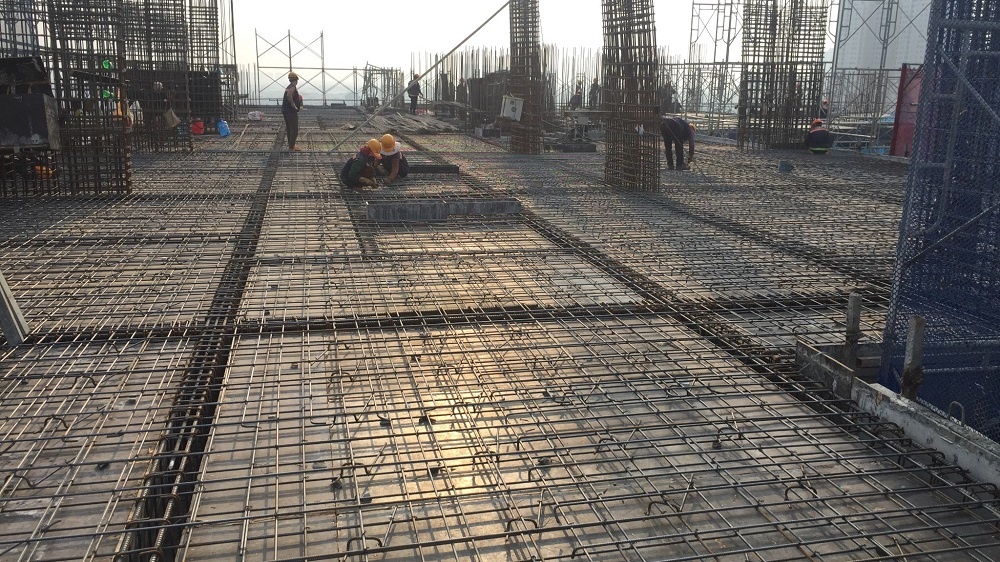 Tiến độ xây dựng Athena Complex Pháp Vân ngày 31/08/2020