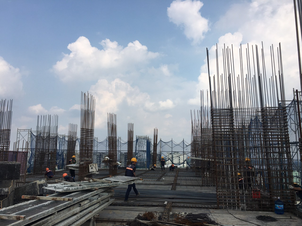 Tiến độ xây dựng dự án Athena Complex Pháp Vân ngày 30/09/2020