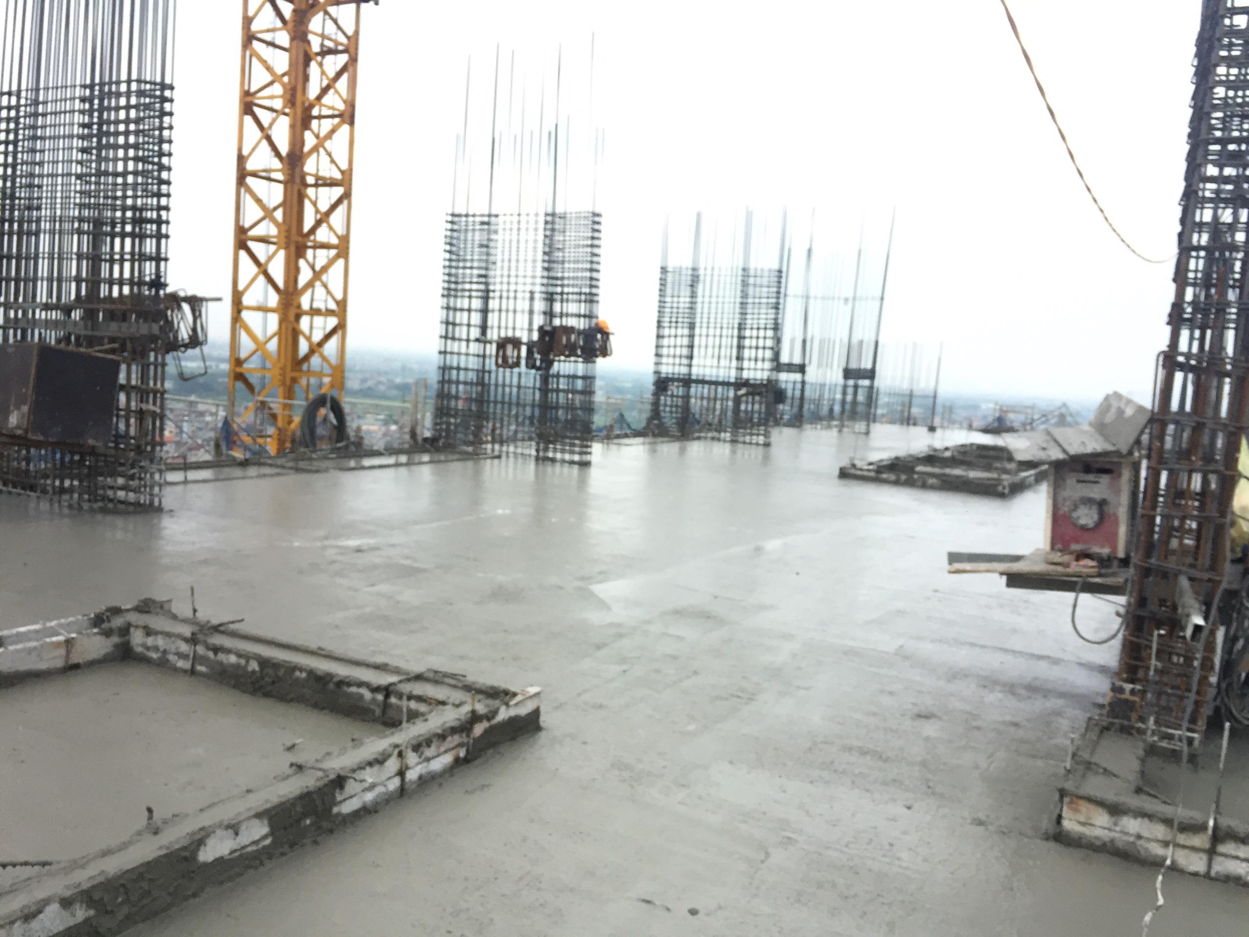 Tiến độ xây dựng dự án Athena Complex Pháp Vân ngày 15/10/2020