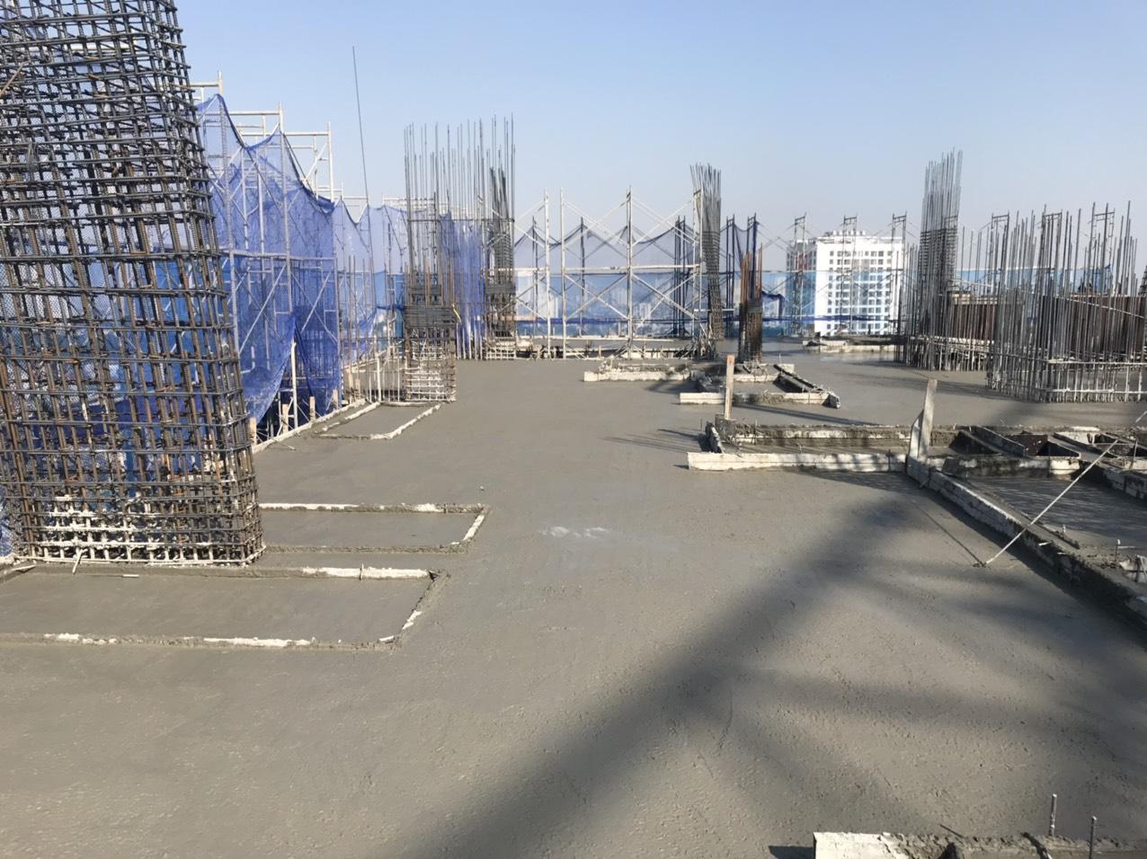 Tiến độ xây dựng dự án Athena Complex Pháp Vân ngày 16/11/2020