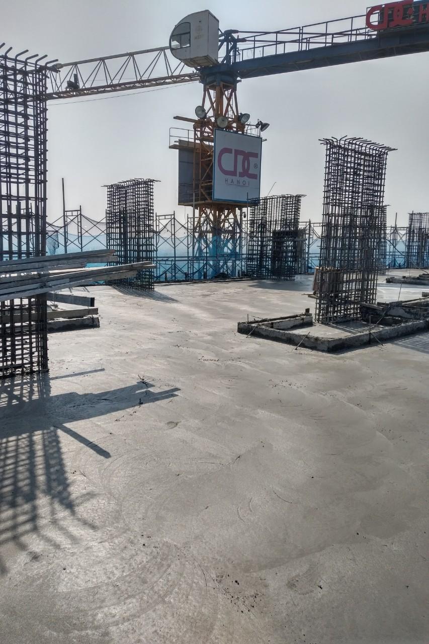 Tiến độ xây dựng dự án Athena Complex Pháp Vân ngày 05/11/2020