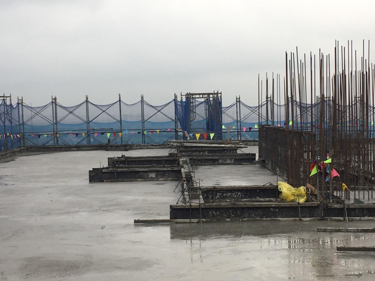 Tiến độ xây dựng dự án Athena Complex Pháp Vân ngày 15/12/2020