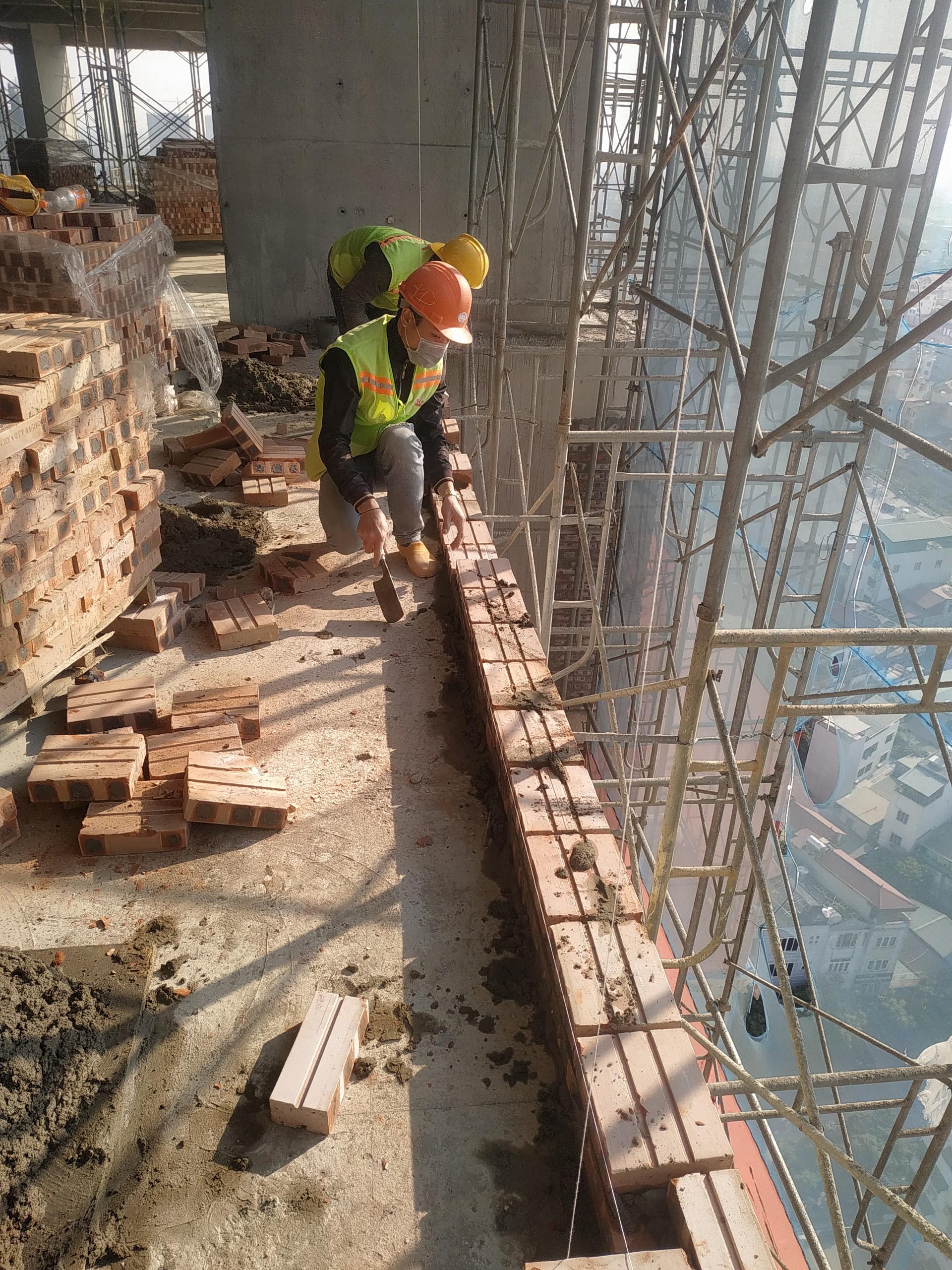 Tiến độ xây dựng dự án Athena Complex Pháp Vân ngày 15/01/2021