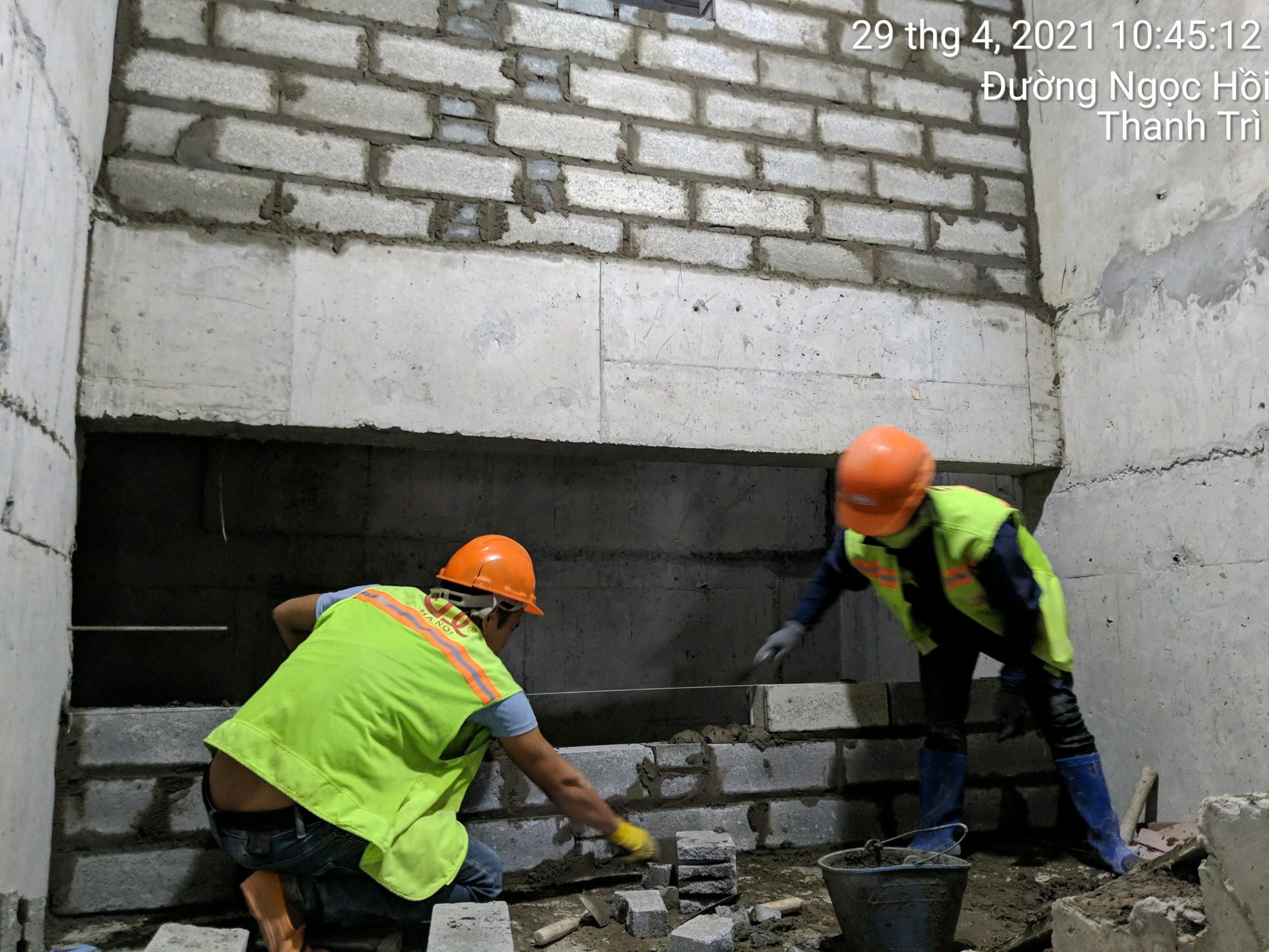 Tiến độ xây dựng dự án Athena Complex Pháp Vân đến ngày 15/05/2021