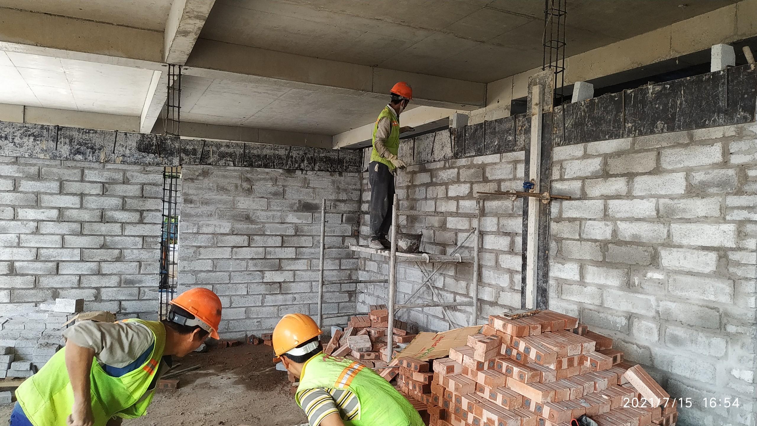 Tiến độ xây dựng dự án Athena Complex Pháp Vân đến ngày 30/07/2021